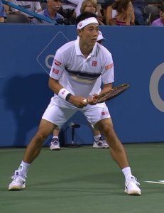 シティ・オープンのシングルス3回戦で錦織圭が勝利、準々決勝へ