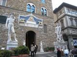 ダビデ像、ヘラクレス像