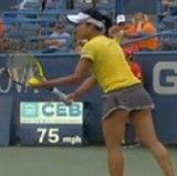 シティ・オープンの女子シングルス決勝で 奈良くるみが惜しくも敗退