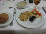 アリサレス ホテルの夕食