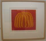 かぼちゃ美術館 前衛美術家、草間彌生の絵