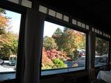 日光金谷ホテル レストランから