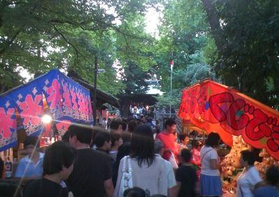 碑文谷八幡の秋祭り