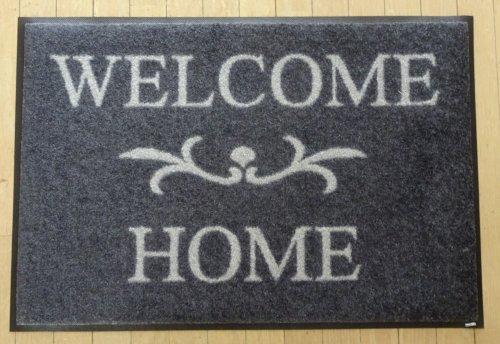 新型コロナウイルス対策で洗える玄関マットを購入