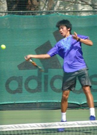 三菱電機・早稲田大学フューチャーズ国際テニストーナメント 中川直樹