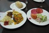 ボルムホフのホテル ベルティーチェ・アルハラフェの夕食