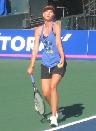 シャラポア 東レ パン・パシフィック・テニス