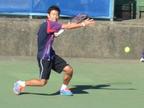 慶應チャレンジャー国際テニストーナメント 2014 西岡良仁