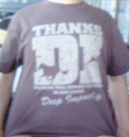 ディープインパクトTシャツ