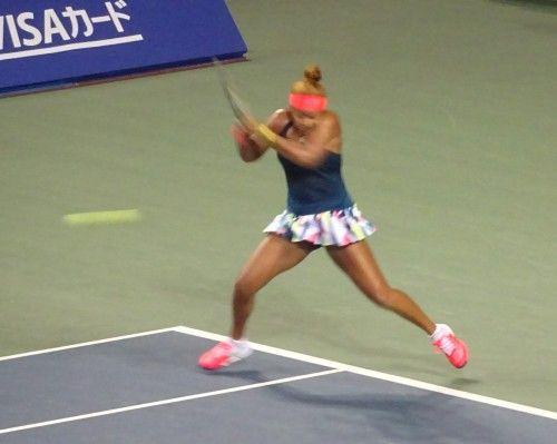 東レ パン・パシフィックオープン・テニスの準々決勝で、期待の18歳の大坂なおみが勝ち準決勝へ