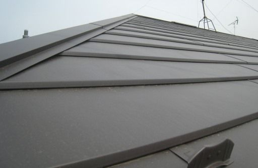 屋根工事の完成