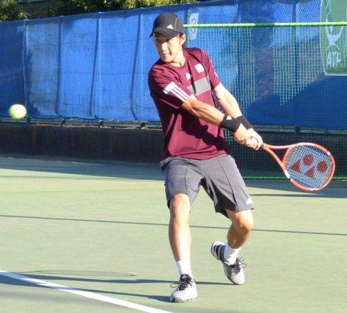慶應チャレンジャー国際テニストーナメント 2014準決勝