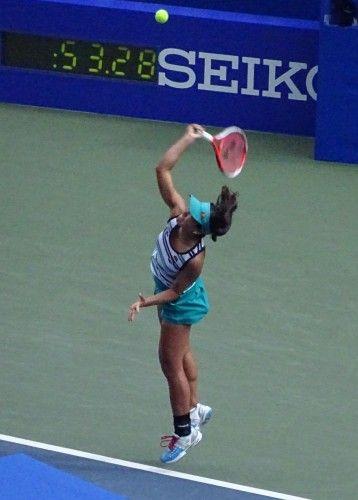 日比野菜緒 東レパン・パシフィックオープン・テニス
