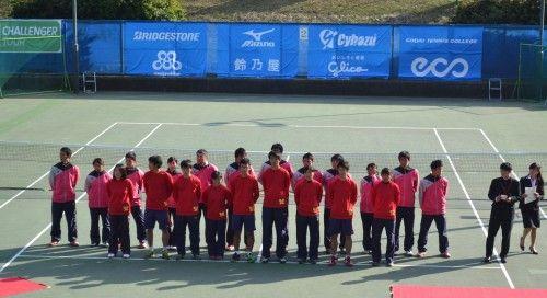 慶應チャレンジャー国際テニストーナメント 2014 決勝