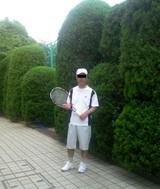 駒場体育館のテニスコート