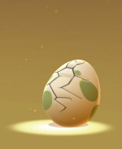 ポケモンGOの卵が孵りました