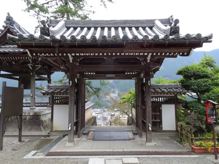下呂温泉が一望できる 温泉寺