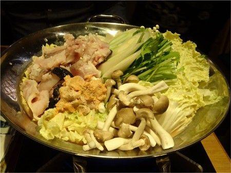 「修蔵 新宿店」のアンコウ鍋