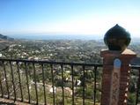レストラン パドラストロからの眺め