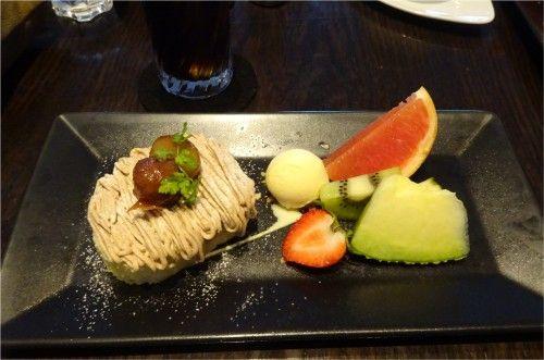 大丸東京店13階 XEX TOKYO / The BAR&Cafeのケーキセット