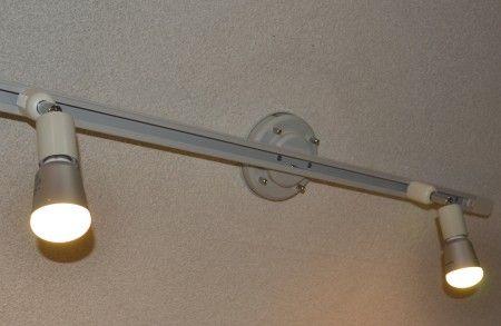 シーリング型のライティングバー LED電球の取り付け