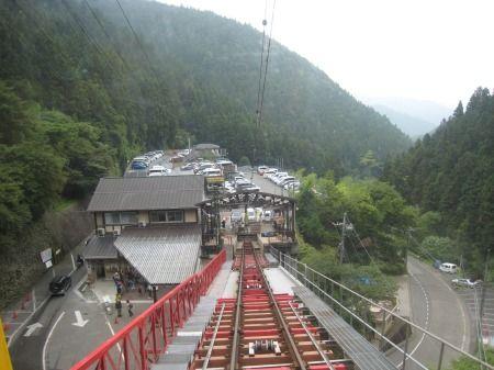 御岳山 ケーブルカー