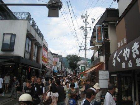旧軽井沢の銀座通り