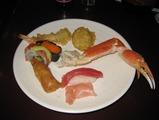 ラスベガス アウトレットの日本料理ビュフェ