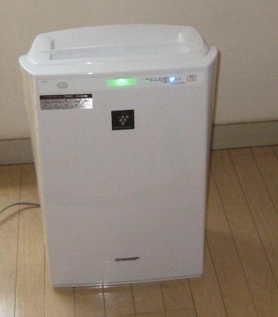 シャープ 空気清浄機「高濃度プラズマクラスター7000」