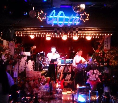 ライブハウス 新宿21世紀の40周年