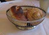 箱根のレストラン アルベルゴバンブーのパン