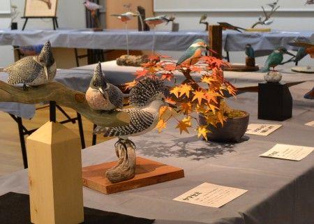 野鳥に親しむ・バードカービング作品展2011