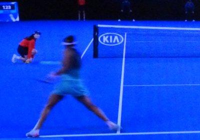 全豪オープンテニスのシングルス決勝で大坂なおみが優勝