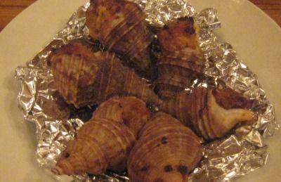 ツブ貝のガーリックバター焼き「NINE PIZZA PASTA」
