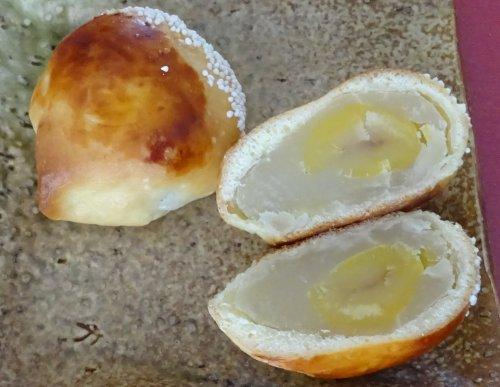 西小山 和菓子店 青柳の栗饅頭