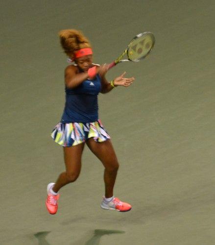 東レ パン・パシフィックオープン・テニス シングルス1回戦 大坂なおみが土居美咲に勝利 2回戦へ