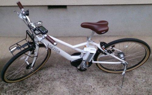 ヤマハのスポーツタイプの電動アシスト自転車 PAS VIENTA5 PA26V