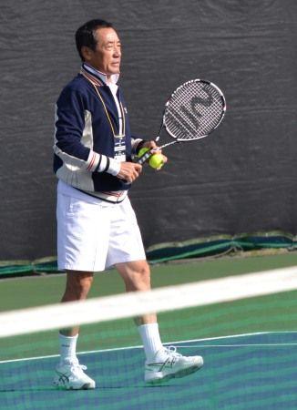 坂井利郎プロ ニッケ全日本テニス選手権(団塊テニススクール