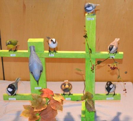 バードカービング作品展 「野鳥公園の木鳥たち」