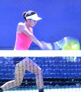 全米オープンテニスジュニア 女子シングルス 日比万葉 準々決勝