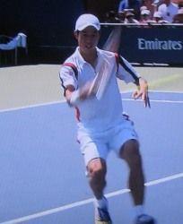 全米オープンテニス シングルス2回戦 錦織圭が勝利