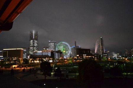 FISHERMAN'S MARKET (フィッシャーマンズマーケット) テラスからの夜景