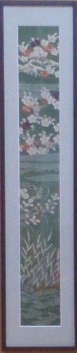 「古裂額装品」江戸時代の着物の額装