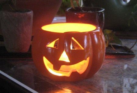 ハロウィンのかぼちゃ提灯