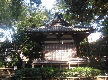 奥沢神社 境内