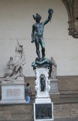 メドゥーサの首を持つペルセウス