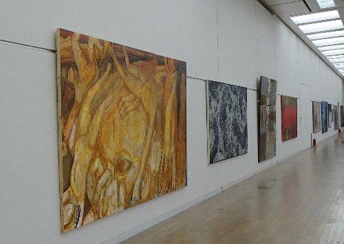 国立新美術館で開催中の『国展』行ってきました。