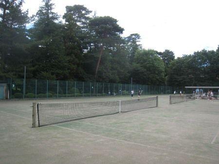 井の頭公園 都営のテニスコート