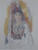 ピカソの「ショールの女」