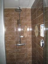 ホテルSRのシャワールーム